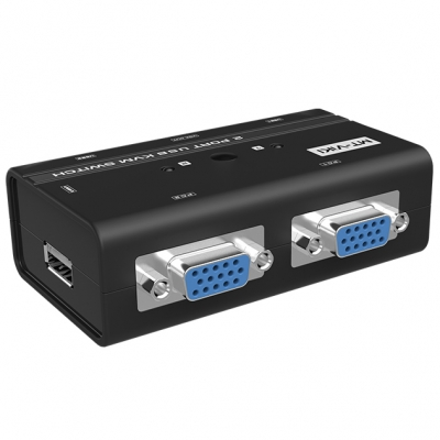 2 port VGA USB KVM Switch